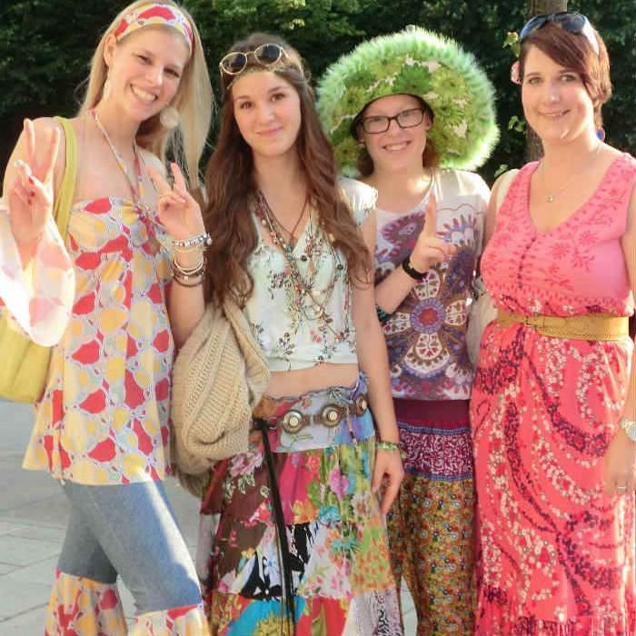 Sommerfest70er Mitarbeiterfest Wichtel Akademie