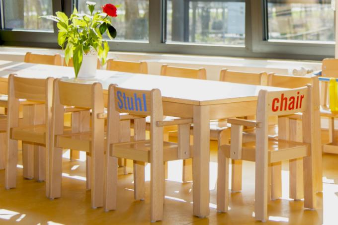 Kindergarten und Kinderkrippe am Biederstein-Schwabing Innenraum