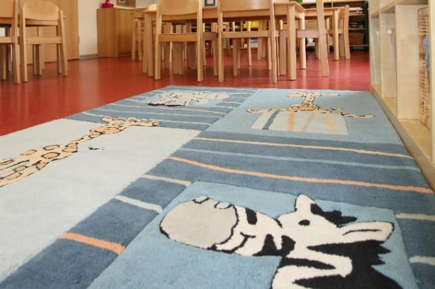 Kinderkrippe und Kindergarten Muenchen Garching Innrenraum