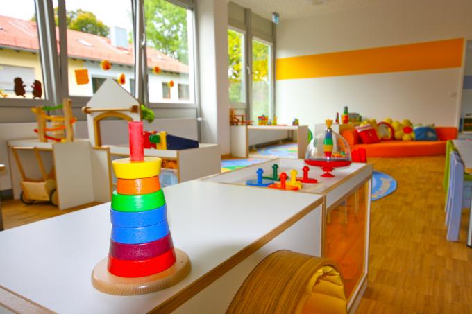 Kindergarten und Kinderkrippe München-Trudering- Lichtdurchflutete Räume