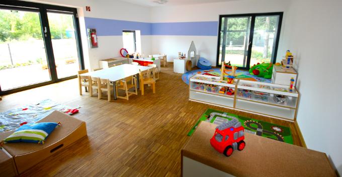 Kinderkrippe Muenchen Neuhausen Spielzimmer
