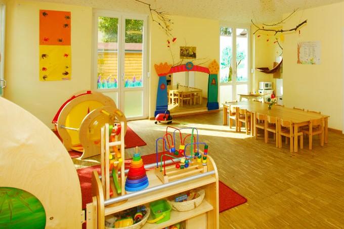 Kinderkrippe München Obersendling Spielraum
