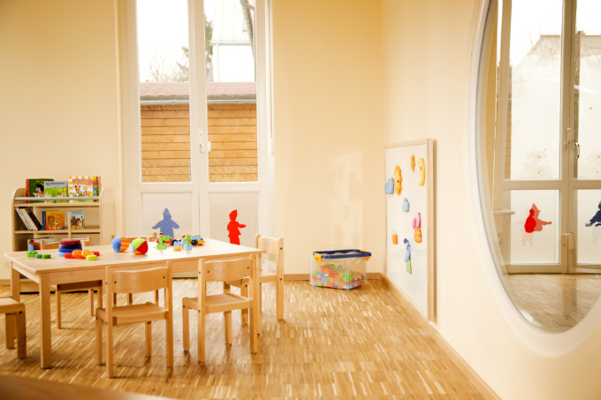 Kinderkrippe München Obersendling Innenraum