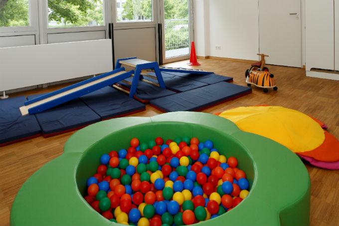 Kindergarten und Kinderkrippe München-Trudering Bällebad
