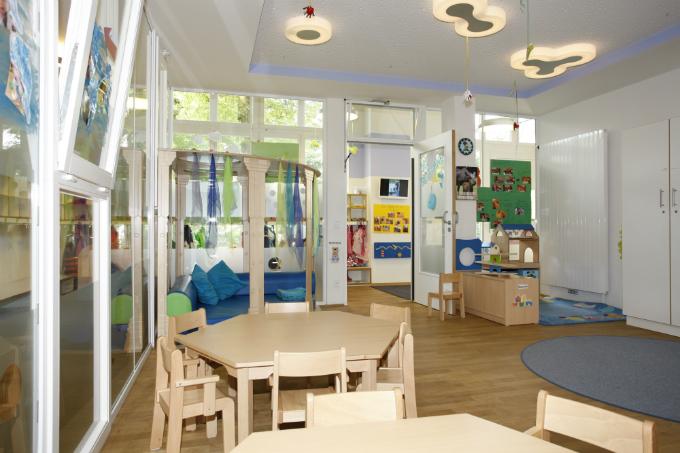Kindergarten und Kinderkrippe Harlaching Innenraum