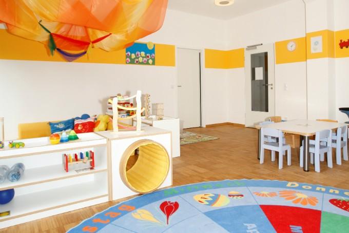 Kindergarten und Kinderkrippe München-Trudering Spielzimmer
