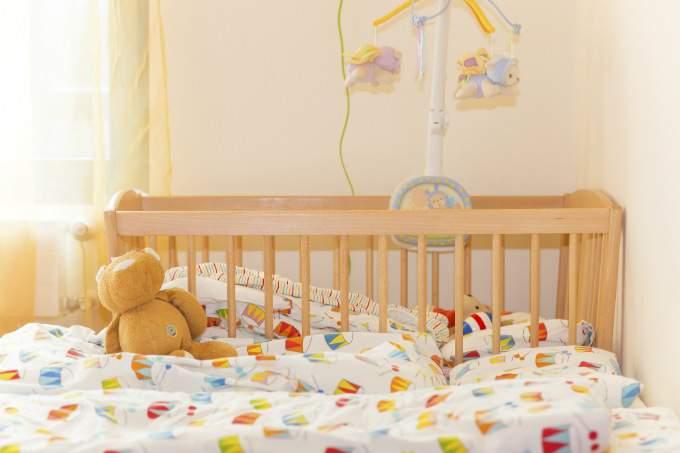 Kindergarten und Kinderkrippe am Biederstein-Schwabing Schlafraum