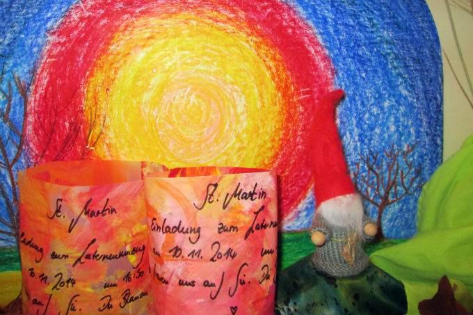 Kinderkrippe Obsersendling Sankt Martin Laterne