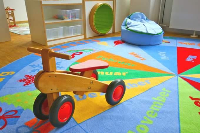 Kinderkrippe und Kindergarten München Fürstenried Dreirad