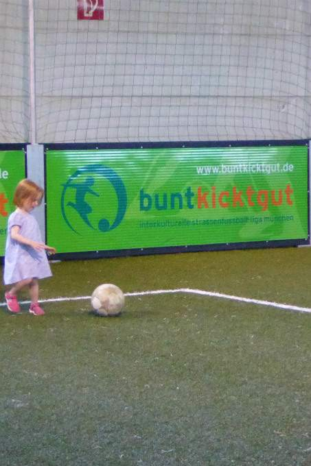 Fussball Kita Neuhausen Sommerfest