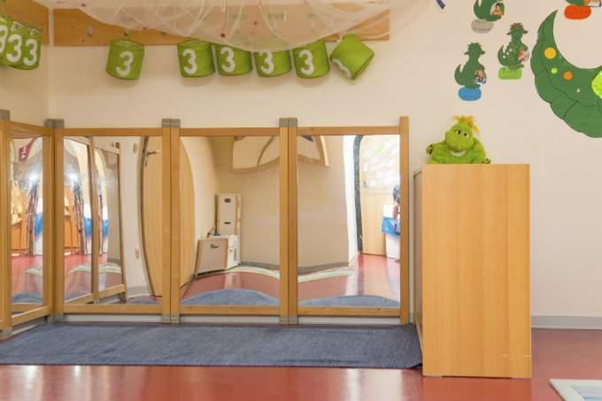 Kinderkrippe und Kindergarten Muenchen Garching Innenraum
