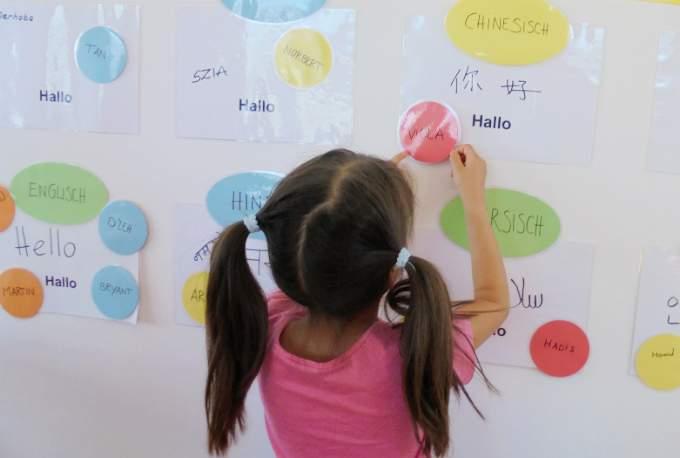 Identitaet Interkulturalitaet Sprache Kindergarten Schwabing
