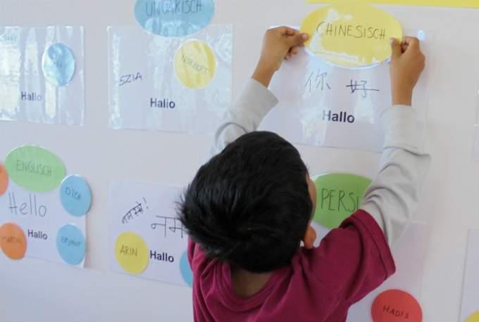 Identitaet chinesisch Kindergarten Wichtel Akademie