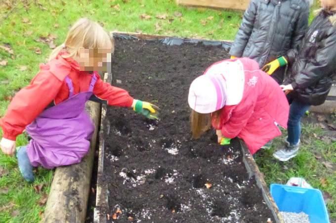 Kindergarten Garching Garten