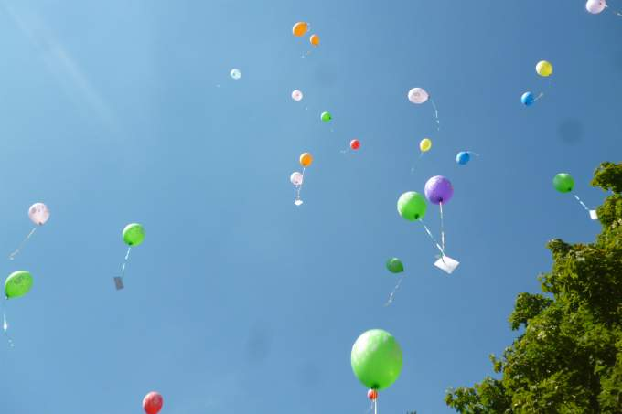 Kinderkrippe Kindergarten Garching Luftballons