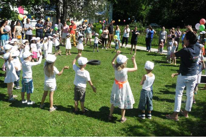 Kinderkrippe Kindergarten Garching Sommerfest
