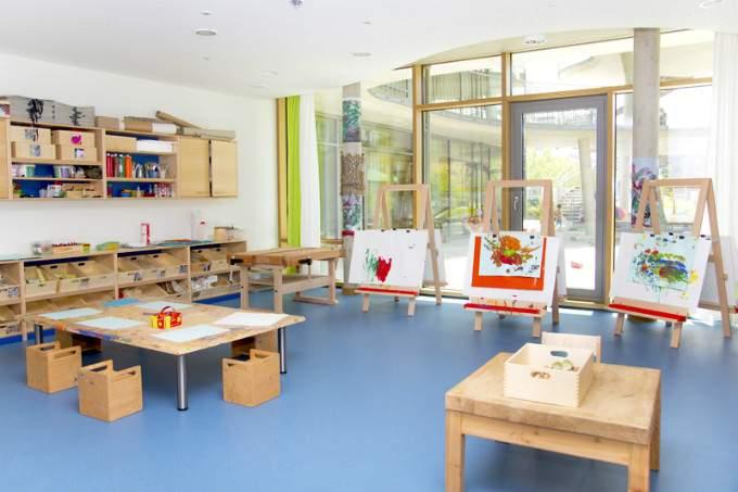 Kinderkrippe Kindergarten Parkstadt Schwabing Atelier