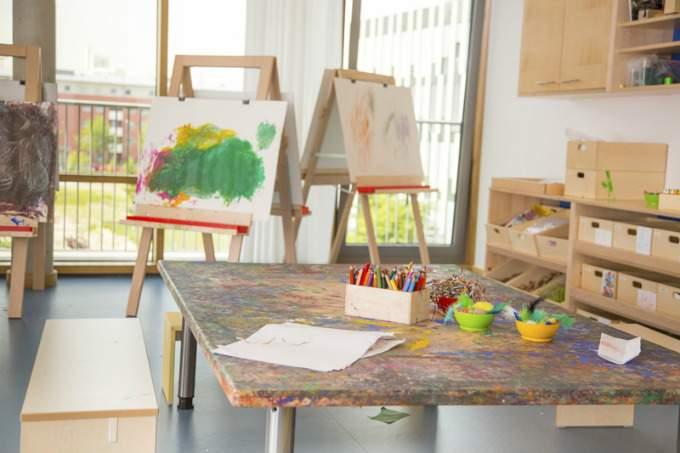 Kinderkrippe Kindergarten Parkstadt Schwabing Kinderatelier