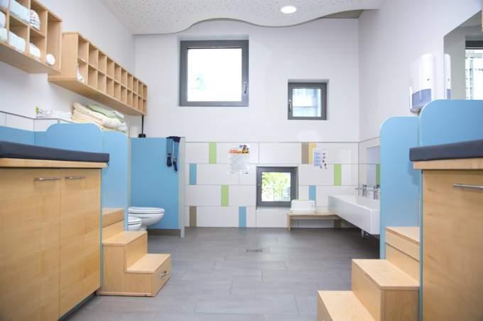 Kinderkrippe Kindergarten Parkstadt Schwabing Hygiene