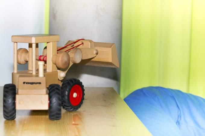 Kinderkrippe Kindergarten Parkstadt Schwabing Bagger