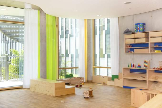 Kinderkrippe Kindergarten Parkstadt Schwabing Bauzimmer