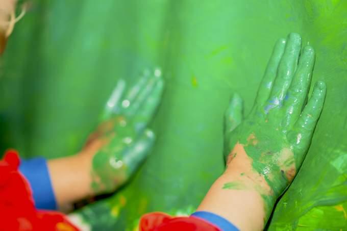 Kinderkrippe Kindergarten Parkstadt Schwabing Kunst