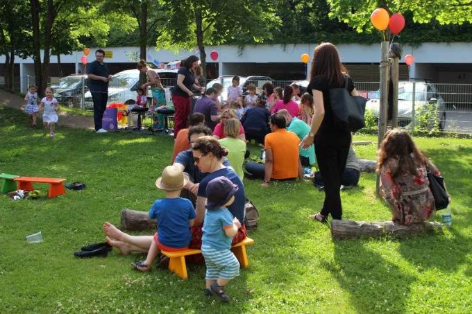 Kinderkrippe Kindergarten Sommerfest Kultur