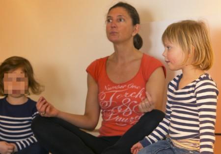 Kinderkrippe Kindergarten yoga