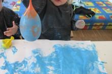 Kinderkrippe Neuhausen Luftballon Kunst