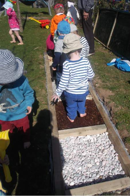 Kinderkrippe Obersendling Fußpfad