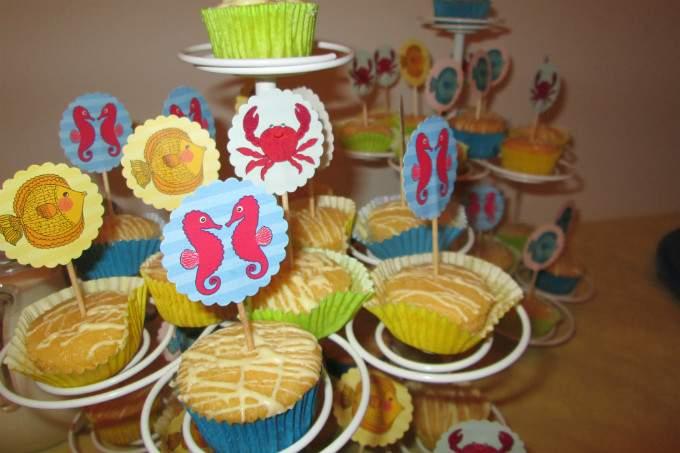 Kinderkrippe Obersendling Sommerfest muffins