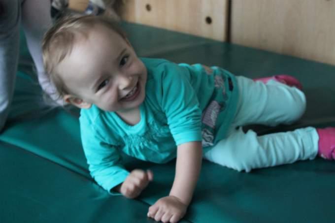 Kinderkrippe Schwabing Bewegungsraum