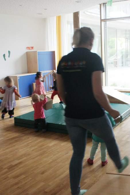 Kinderkrippe Schwabing Umzug Bewegungsraum
