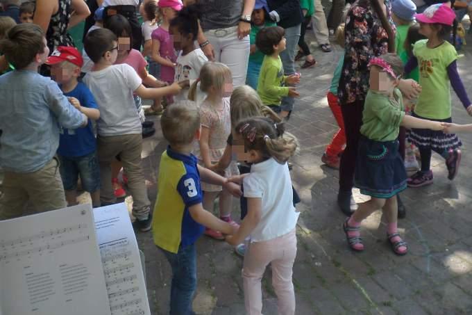 Kita Fuerstenried Musical Tanz