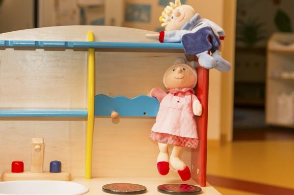 Kindergarten und Kinderkrippe Laim Puppen
