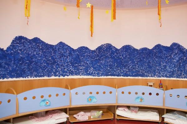 Kindergarten und Kinderkrippe Laim  Schlafraum
