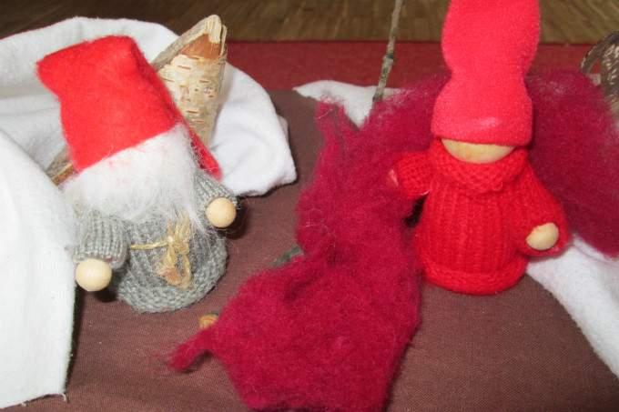 Kinderkrippe Obsersendling Sankt Martin Puppen
