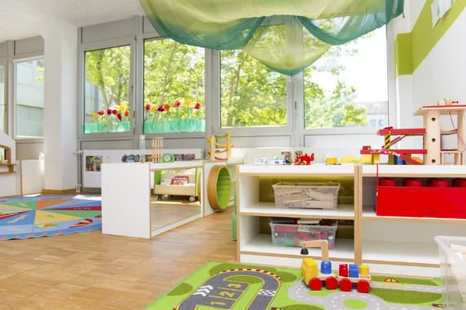 Kindergarten und Kinderkrippe München-Trudering Innenraum