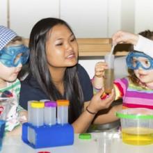 Kinderkrippe und Kindergarten am Biederstein-Schwabing Familieninformationstag