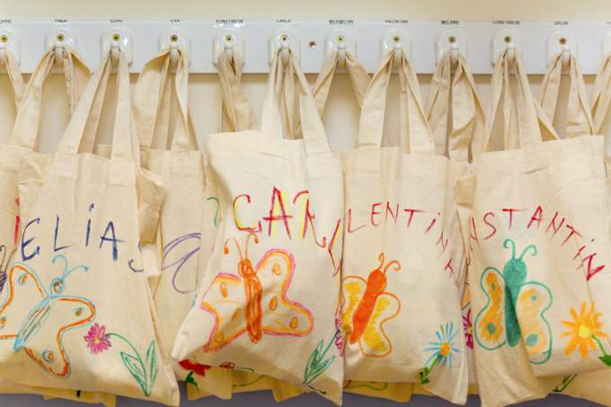 Kinderkrippe München Sendling Garderobe
