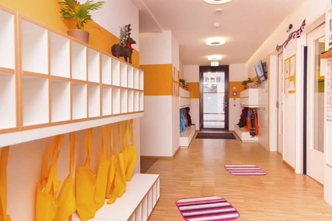 kinderkrippe kindergarten Sendling-Westpark Flur