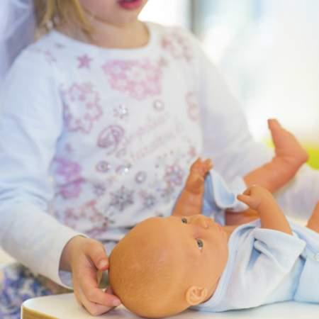 Pflege in der Kinderkrippe